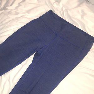 Athletica leggings heathers blue size M
